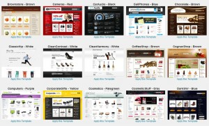 BigCommerce Themes (click to enlarge)