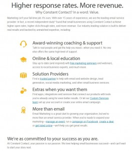 Why Choose Constant Contact (click to enlarge)